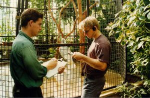 The parrot experiment