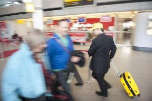 Professionals Race at Tegel Airport
